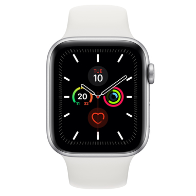 Apple Watch Series 5 44mm smartwatch Argento OLED GPS (satellitare)