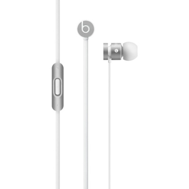 Beats by Dr. Dre urBeats Auricolare Stereofonico Argento, Bianco