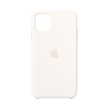 """Apple MWVX2ZM/A custodia per iPhone 11 15,5 cm (6.1"""") Cover Bianco"""