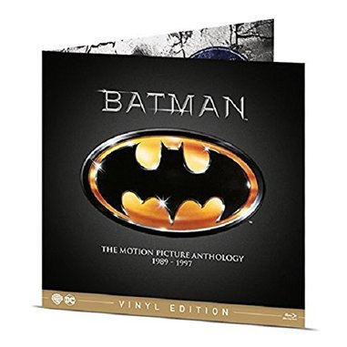 Batman Anthology 1989-1997- Vinyl Edition (Blu-ray)