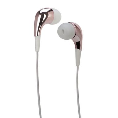 MySound Speak MIRROR Auricolare Stereofonico Cablato Rosa, Bianco auricolare per telefono cellulare