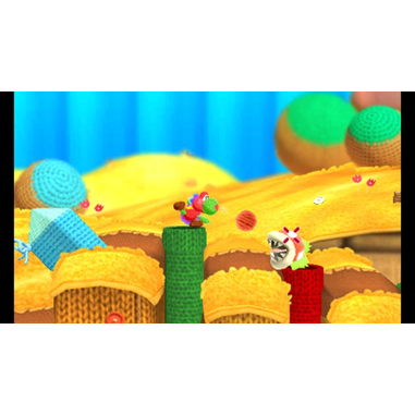 Nintendo Poochy & Yoshi's Woolly World Basic Nintendo 3DS ITA videogioco
