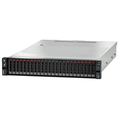 Lenovo ThinkSystem SR655 server AMD EPYC 3 GHz 32 GB DDR4-SDRAM Armadio (2U) 750 W