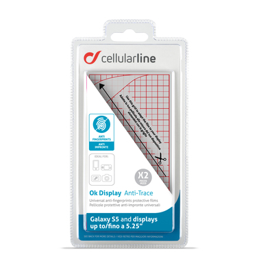 Cellularline Ok Display Anti-Trace - Per Smartphone fino a 5.25