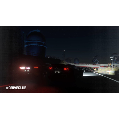 Sony DriveClub, PS4