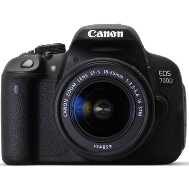 Canon EOS 700D + EF-S 18-55mm Kit fotocamere SLR 18MP CMOS 5184 x 3456Pixel Nero