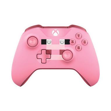 Microsoft Xbox One Wireless Controller Gamepad Xbox One Minecraft Pig