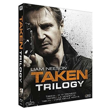 Taken trilogia (Blu-ray)