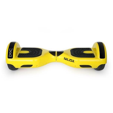 Nilox 30NXBK65D2N03 10km/h 4300mAh Nero, Giallo hoverboard