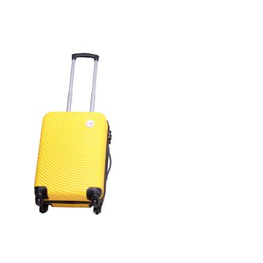 Smartway Valigia Trolley Cabina Giallo