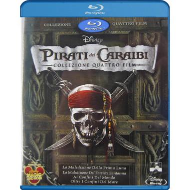 Pirati dei Caraibi - collezione 4 film (Blu-ray)