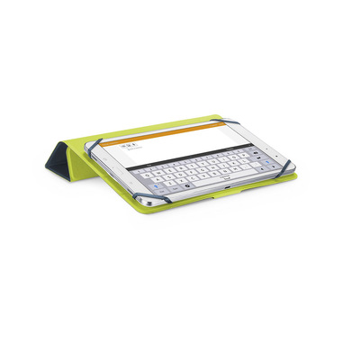 """Cellularline Click Case - Tablet fino a 10.5"""" Custodia universale con retro pieghevole Blu"""