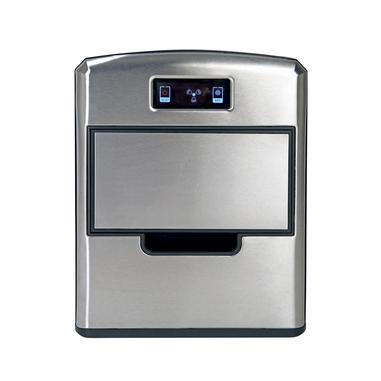 RGV Mojito Ice FG12D 150 W Macchina per ghiaccio portatile 12 kg/24h Nero, Acciaio inossidabile