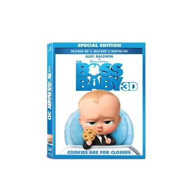 Boss Baby, Blu-Ray 3D