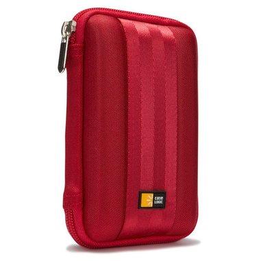 Case Logic QHDC101R Custodia a tasca EVA (Acetato del vinile dell'etilene) Rosso custodia HDD/SSD