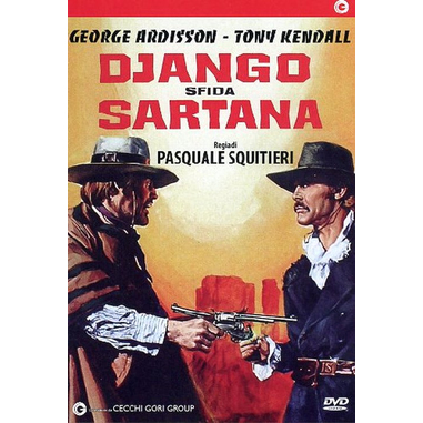 Django Sfida Sartana, film (DVD)
