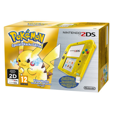 Nintendo 2DS + Pokémon Giallo
