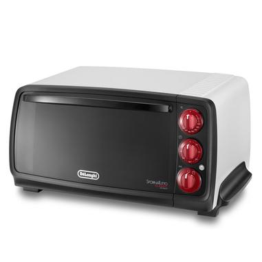 DeLonghi EO 14552.W 14L 800W Nero, Bianco Grill fornetto con tostapane