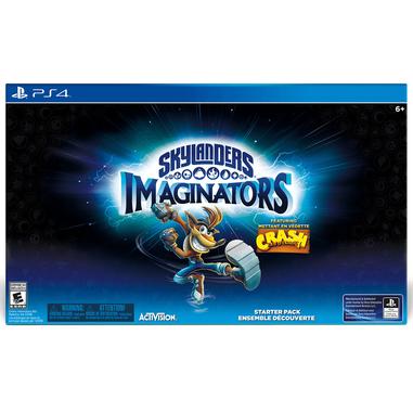 Skylanders Imaginators Crash edition, PS4 Confezione Starter PlayStation 4 ITA