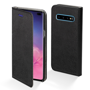 "Phonix SS10PBCB custodia per Galaxy S10+ 16,3 cm (6.4"") Custodia a borsellino Nero"