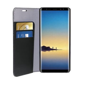 Phonix Custodia a Libro in Ecopelle per Samsung Galaxy Note 8 - Nera