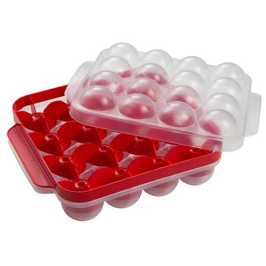 Snips Pronto Polpetta, Rosso, Bianco Polipropilene (PP) meatball mold