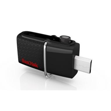 Sandisk Ultra Dual USB Drive 3.0 unità flash USB 32 GB USB Type-A / Micro-USB 3.2 Gen 1 (3.1 Gen 1) Nero