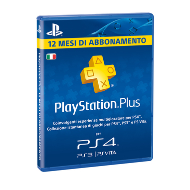 Sony PlayStation Plus PS4 Card: 365