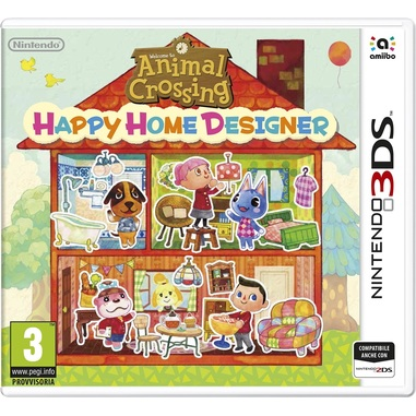 Animal crossing happy home designer + amiibo card - Nintendo 3DS