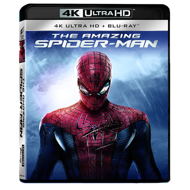 The Amazing Spiderman Blu-ray