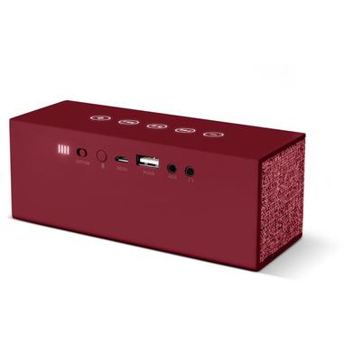 Fresh 'n Rebel Rockbox Brick Fabriq Stereo 12W Rettangolo Rosso