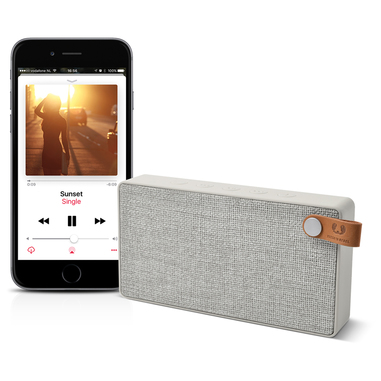 Rockbox Slice Fabriq Edition Bluetooth Speaker Cloud
