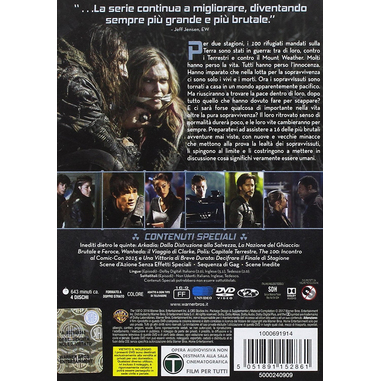 The 100 - Terza Stagione (4 DVD)