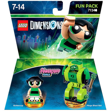 LEGO DIMENSIONS Fun Pack Powerpuff Girls set per costruzioni