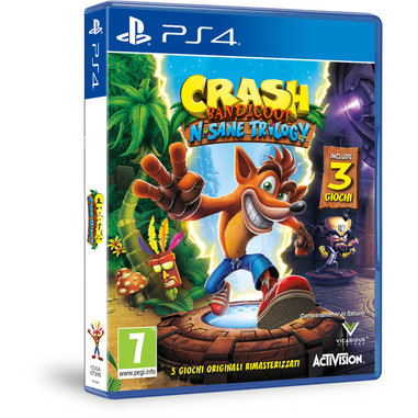 Crash Bandicoot: N. Sane trilogy - Playstation 4