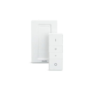 Philips Hue Dimmer Switch Telecomando Wireless a Batteria per Sistema Philips Hue, Bianco