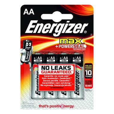 Energizer AA Max alcalina 4 pzz.