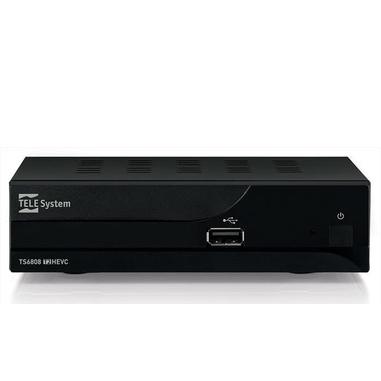 TELE System TS6808 Terrestre Full HD Nero set-top box TV
