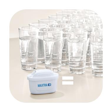 Brita Filtri potenziati MAXTRA + per caraffa filtrante - Pack 3