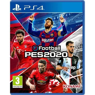 eFootball PES 2020, Playstation 4