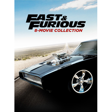 Fast & Furious 8-Movie Collection, (DVD) 2D ITA