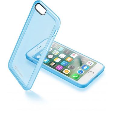 Cellular Line custodia rigida Clear Color per iPhone 7 blu