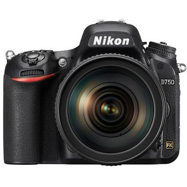 Nikon D750 + Nikkor 24-85mm VR Kit fotocamere SLR 24,3 MP CMOS 6016 x 4016 Pixel Nero