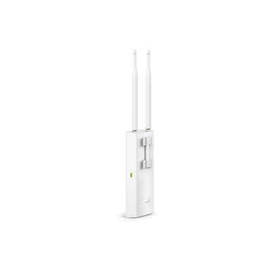 TP-LINK EAP110-Outdoor punto accesso WLAN Supporto Power over Ethernet (PoE) Bianco 300 Mbit/s