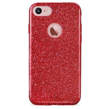 """PURO IPC747SHINE custodia per cellulare 11,9 cm (4.7"""") Cover Rosso"""