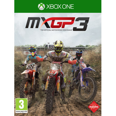 MXGP 3: The Official Motocross Videogame, Xbox One Basico Xbox One Inglese