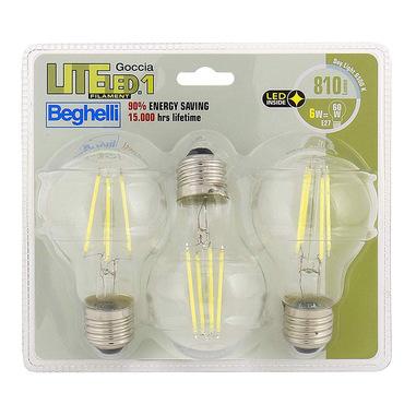 Beghelli 56845BL energy-saving lamp 6 W E27 A++