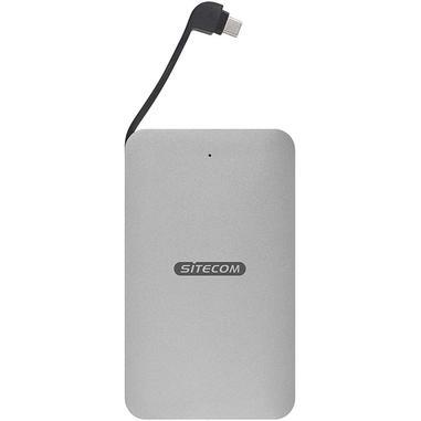 Sitecom MD-401 docking station per unità di archiviazione USB 3.1 (3.1 Gen 2) Type-C Nero, Argento