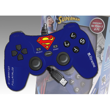 Xtreme Controller PS3 Superman