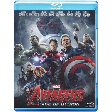 The Avengers: age of Ultron (Blu-ray)